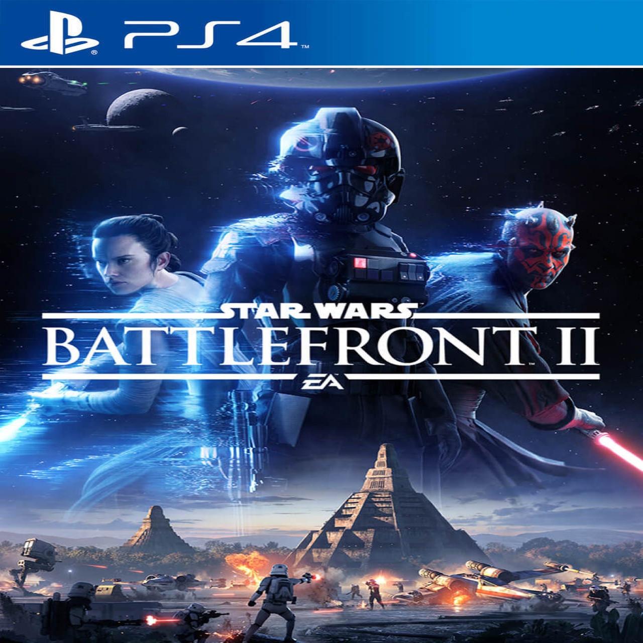 Star Wars:Battlefront II (русская версия) PS4