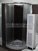 Душевая кабина SANTEH 9001F (90*90*195 см) поддон 15 см хром/фабрик