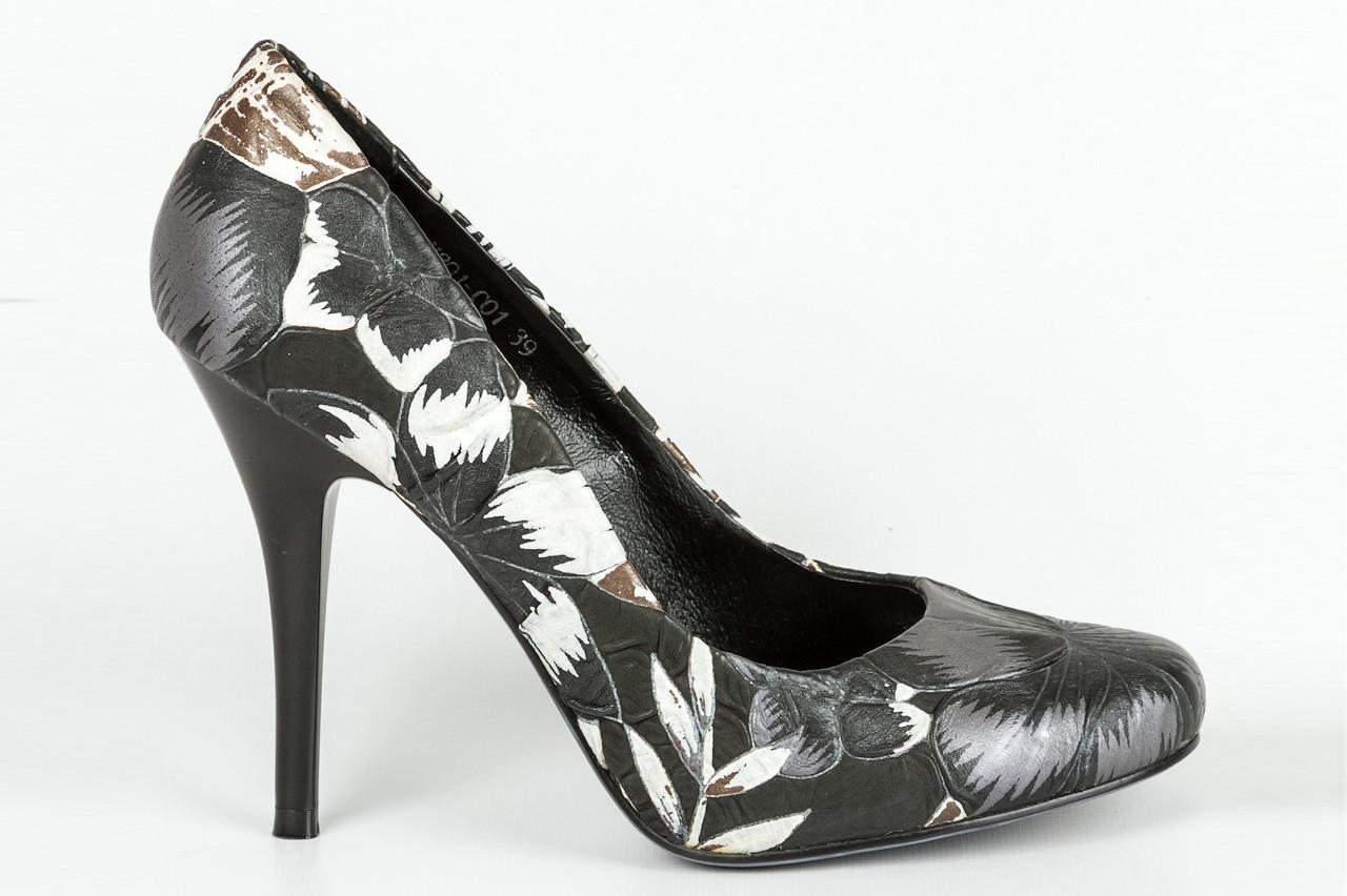 Туфли женские Basic-H801-C01 чер