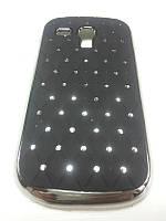 Чехол Diamond накладка Samsung Galaxy S3 mini Neo i8200 черный