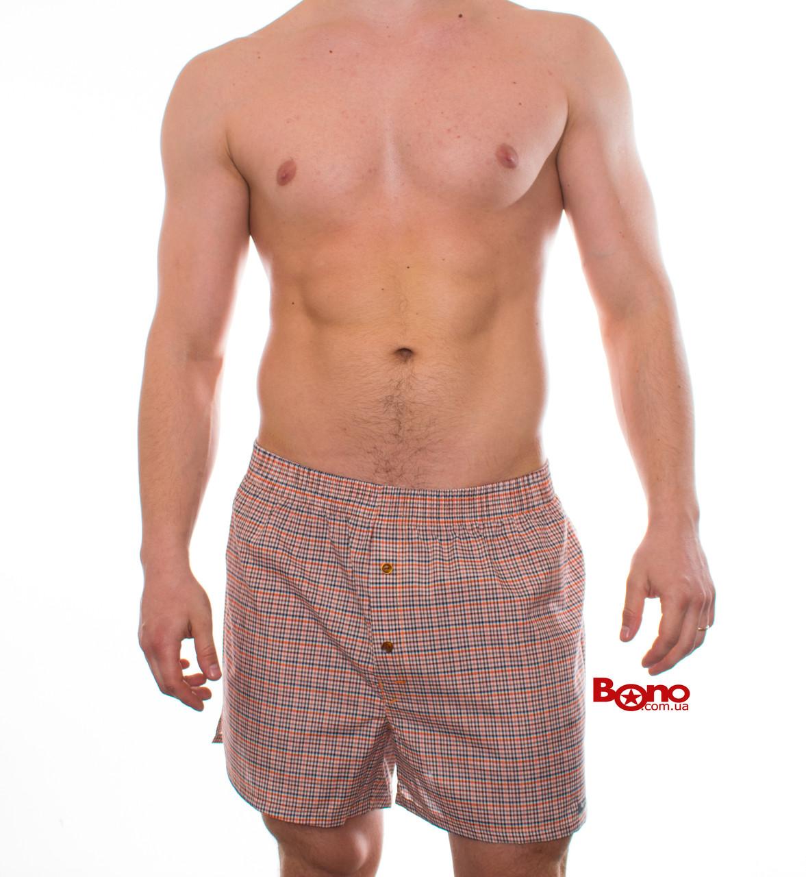 Мужские сатиновые трусы Bono 500310