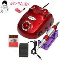 Профессиональный фрезер для ногтей Nail Master 35 000 об/мин.(zs-603 red)