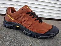 Кроссовки кожаные мужские Salomon 40 -45 р-р, фото 1