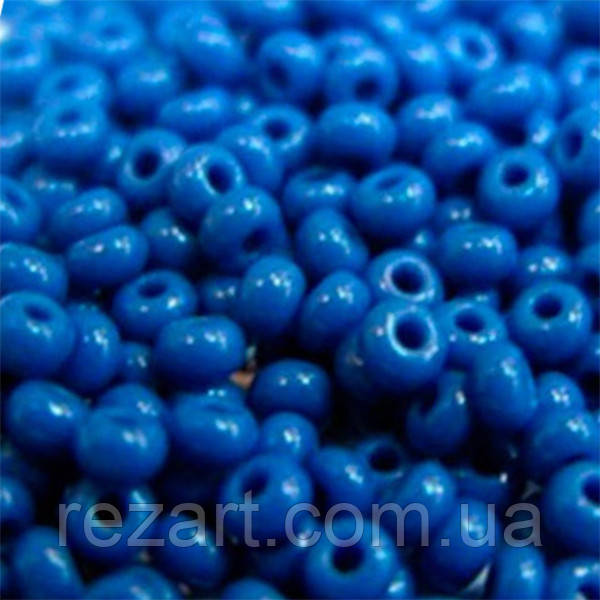 Чеський бісер для рукоділля Preciosa (Прециоза) оригінал 50г 31119-33210-10 синій
