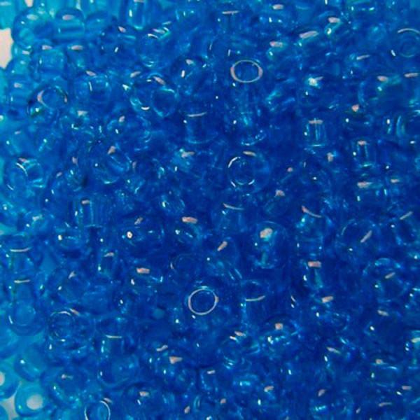 Чешский бисер для рукоделия Preciosa (Прециоза) оригинал 50г 31119-60150-10 синий