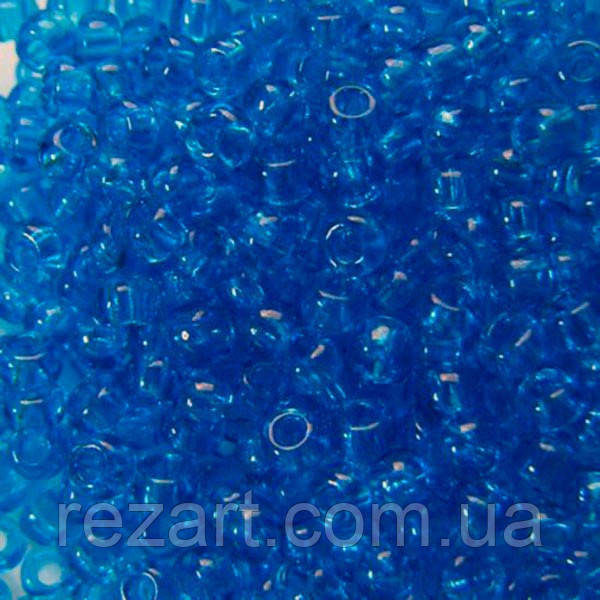 Чеський бісер для рукоділля Preciosa (Прециоза) оригінал 50г 31119-60150-10 синій