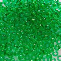 Чеський бісер для рукоділля Preciosa (Прециоза) оригінал 50г 31119-50100-10 зелений