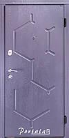 Двери квартирные, серия Люкс+Кале, модель Сплит/Лозана, гнутый профиль, коробка 100 мм, полотно 76 мм, KALE