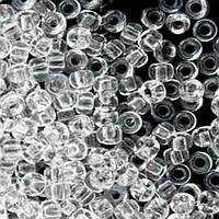 Чешский бисер для рукоделия Preciosa (Прециоза) 50г 31119-00050-10 прозрачный белый