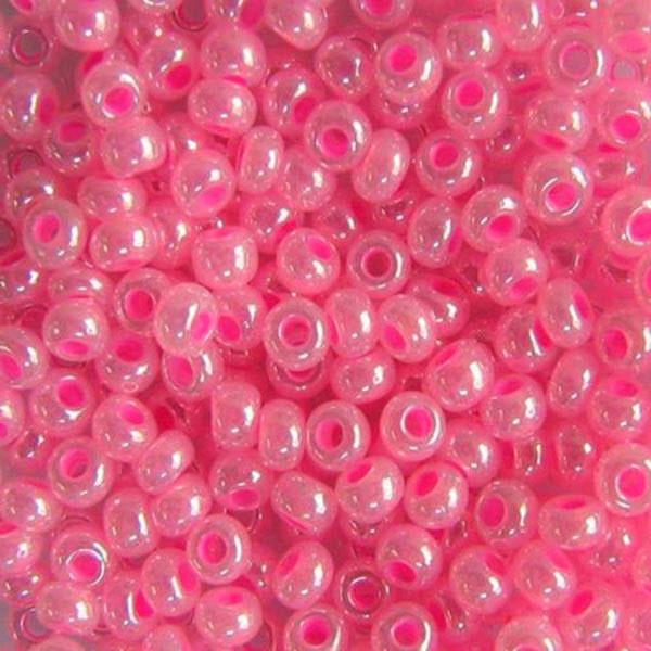 Чешский бисер для рукоделия Preciosa(Прециоза) оригинал 50г 33119-37177-10 розовый