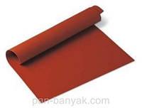 Коврик силиконовый красный 40х30 см силикон Silikomart