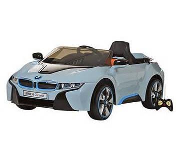 Детский Электромобиль Bambi BMW i8 Concept JE 168 голубой на радиоуправлении, фото 2