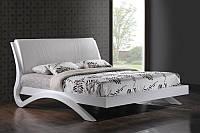 Кровать Эвита белый глянец