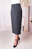 Женская прямая юбка больших размеров, фото 2