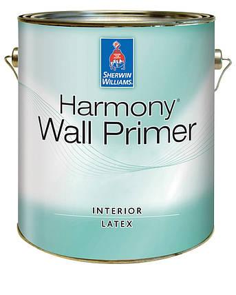 Грунтовка гиппоалергенная Harmony Wall Primer Sherwin-Williams белая, 3,72л (грунт хармони шервин вильямс), фото 2