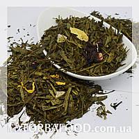 Чай зеленый Ананас с земляникой, фото 1