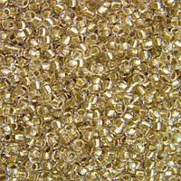 Чешский бисер Preciosa (Прециоза) оригинал 50г 33119-68106-10 золотистый