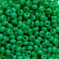 Чешский бисер Preciosa (Прециоза) оригинал 50г 31119-52240-10 зеленый