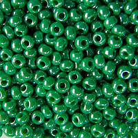 Чешский бисер Preciosa (Прециоза) оригинал 50г 33119-58250-10 зеленый