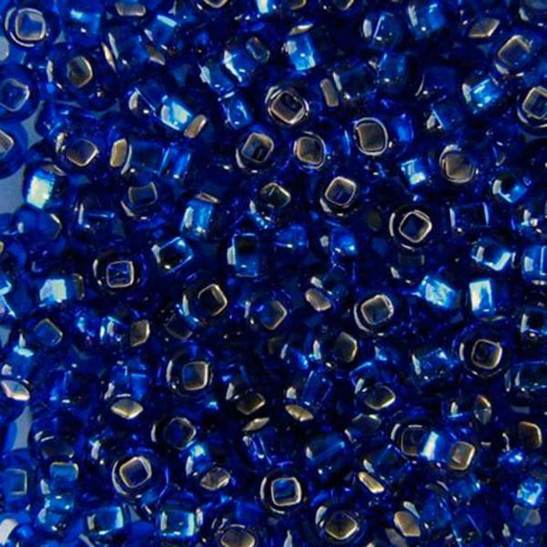 Чешский бисер Preciosa (Прециоза) оригинал 50г 33129-67300-10 Синий