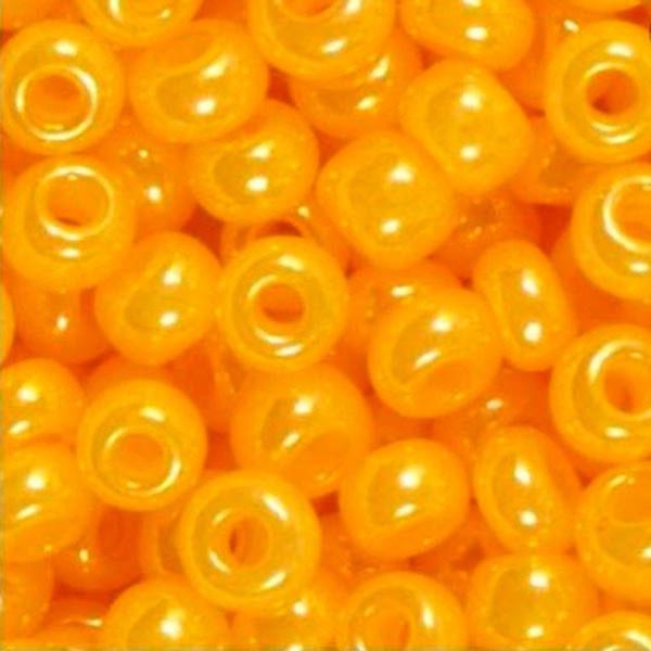 Чешский бисер Preciosa (Прециоза) оригинал 50г 33119-17183-10 Оранжевый