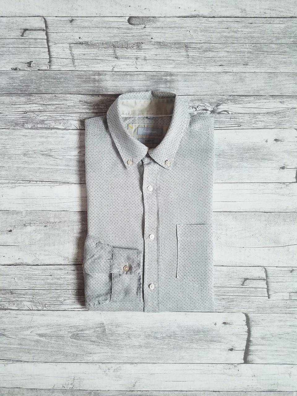 14f01492c9e Мужская льняная рубашка Maddison (L 50) - Brand Stocker в Киеве