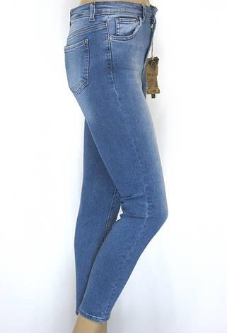 Женские джинсы американки с высокой талией, фото 2