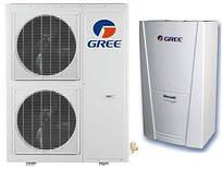 Тепловий насос повітря-вода Gree Versati для опалення і гарячого водопостачання GRS-CQ12PdNa-K
