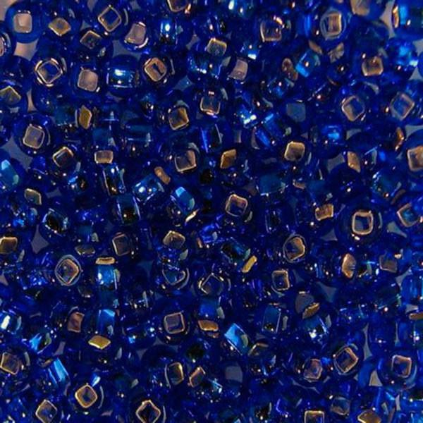 Бісер чеський для рукоділля Preciosa 50г 33129-37080-10 Синій