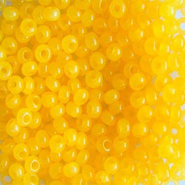 Бісер чеський для рукоділля Preciosa 50г 33119-02181-10 Жовтий