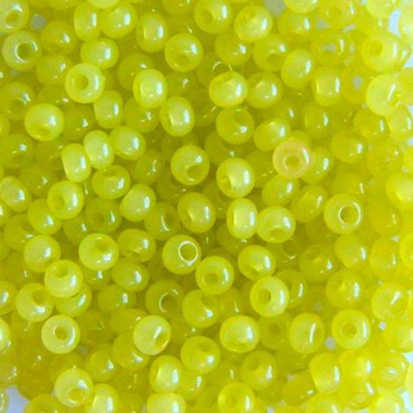 Бисер для вышивания Preciosa (Прециоза) Чехия  оригинал 50г 33119-02153-10 Желтый