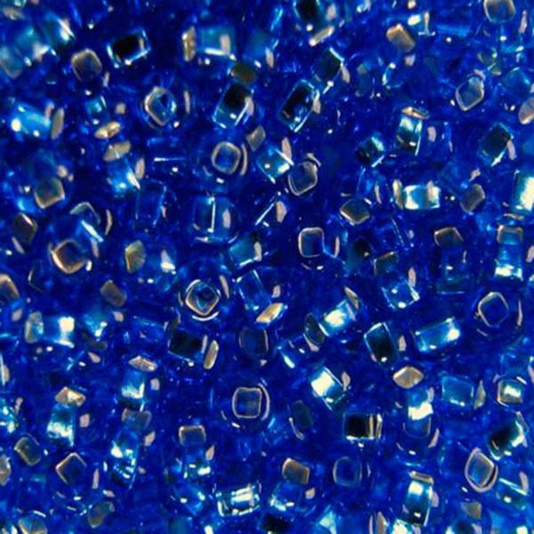 Бисер для вышивания Preciosa (Прециоза) Чехия  оригинал 50г 33129-37050-10 Синий