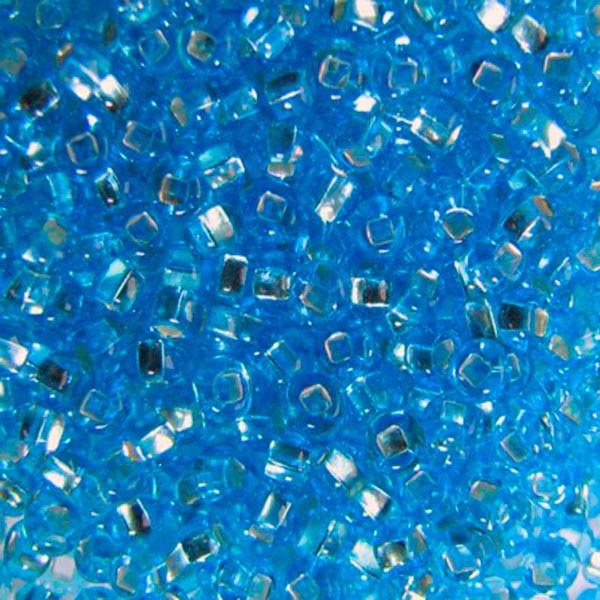 Бисер для вышивания Preciosa (Прециоза) Чехия  оригинал 50г 33129-67010-10 Голубой