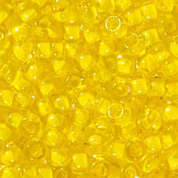 Бисер для вышивания Preciosa (Прециоза) Чехия  оригинал 50г 33119-38386-10 Желтый