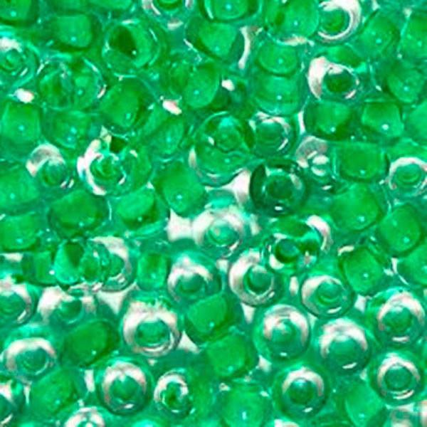 Бисер для вышивания Preciosa (Прециоза) Чехия  оригинал 50г 33119-38356-10 Зеленый