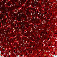 Бисер для вышивания Preciosa (Прециоза) Чехия  оригинал 50г 33119-97090-10 Красный