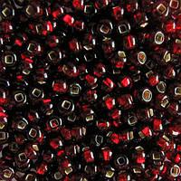 Бисер для вышивания Preciosa (Прециоза) Чехия  оригинал 50г 33129-97120-10 Вишневый
