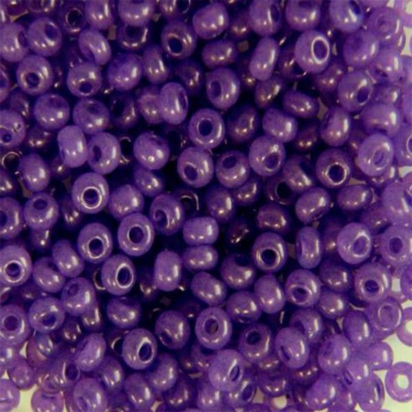 Бисер для вышивания Preciosa (Прециоза) Чехия  оригинал 50г 33119-17828-10 Фиолетовый