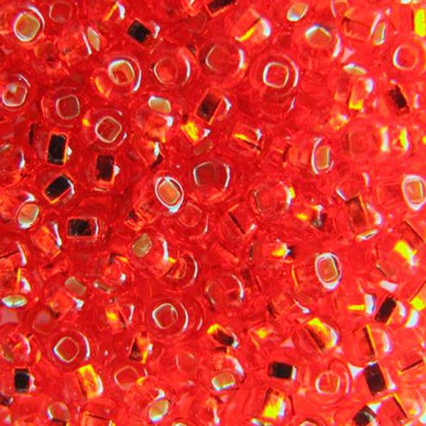 Бисер для вышивания Preciosa (Прециоза) Чехия  оригинал 50г 33129-97050-10 Красный