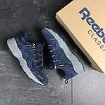 Мужские кроссовки Reebok (темно-синие) , фото 4