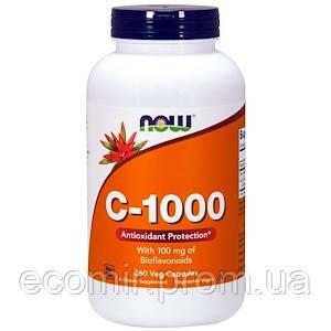 С-1000 с биофлав-ми, Now Foods (1000 мг/ 250 капсул)