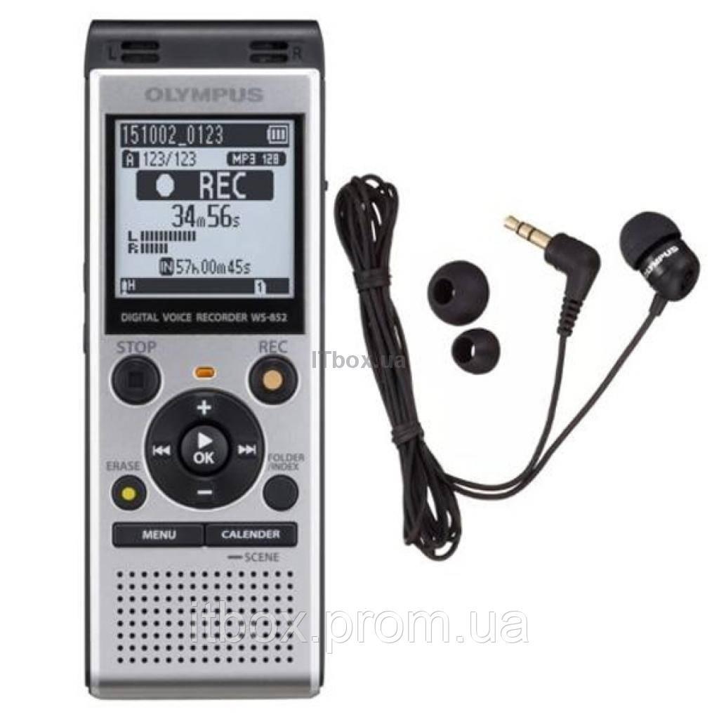 17b92ccc8f3 Цифровой диктофон OLYMPUS WS-852+TP-8 (V415121SE030), цена 3 099 грн ...