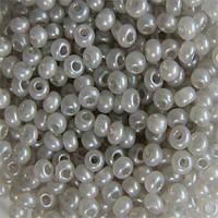 Бисер вышивальный Preciosa (Прециоза) оригинал 50г 33119-17249-10 Серый