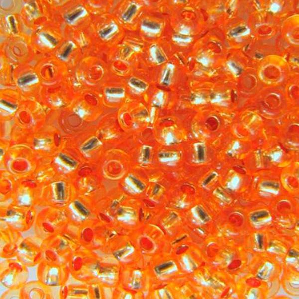 Бисер вышивальный Preciosa (Прециоза) оригинал 50г 33119-08289-10 Оранжевый