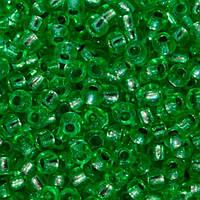Бисер вышивальный Preciosa (Прециоза) оригинал 50г 33119-08256-10 Зеленый