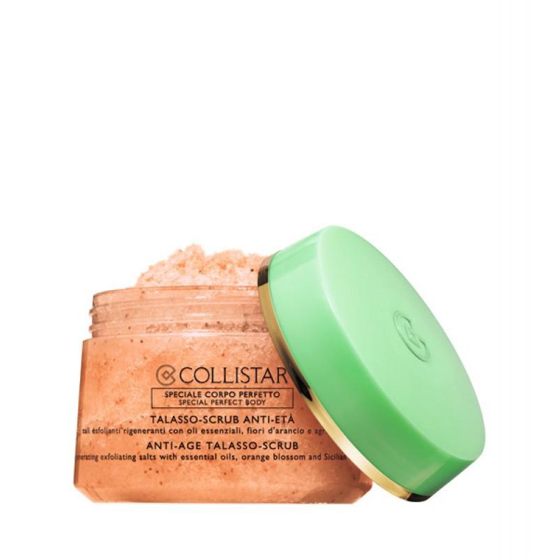 Соль-скраб для тела с антивозрастным эффектом Collistar Talasso-Scrub Anti-Eta