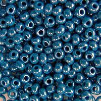 Бисер вышивальный Preciosa (Прециоза) оригинал 50г 33119-68080-10 Синий