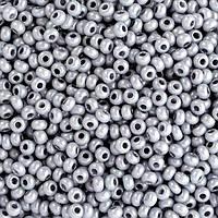 Бисер вышивальный Preciosa (Прециоза) оригинал 50г 33119-16742-10 Серый