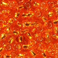 Бісер вишивальний Preciosa (Прециоза) оригінал 50г 33119-87060-10 помаранчевий