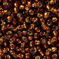 Бисер вышивальный Preciosa (Прециоза) оригинал 50г 33119-17110-10 коричневый